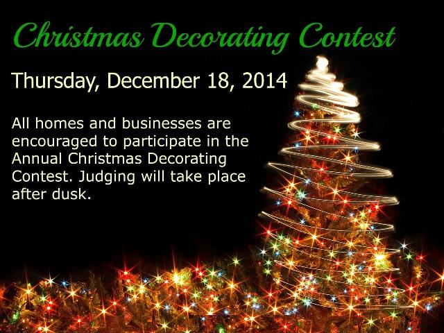 decorating contest 2014