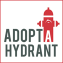 Adopt a Hydrant Button