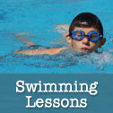 Swimming Lessons Button